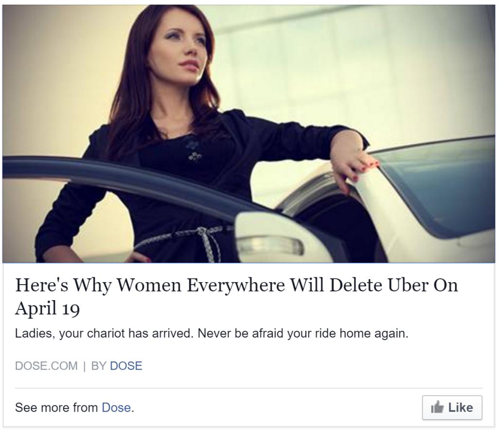 uber chariotforwomen